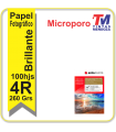 Papl AgfaPhoto Microporo 10x15 Glossy 260grs.
