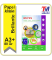 Papel Hartwii Adhesivo Glossy A3+ 115grs x 20hjs