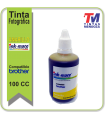 Tinta Ink-Mate para Brother Amarilla x 100cc