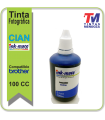Tinta Ink-Mate para Brother Cian x 100cc