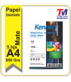 Papel Magnetico Ink Mate Kennen de 650grs